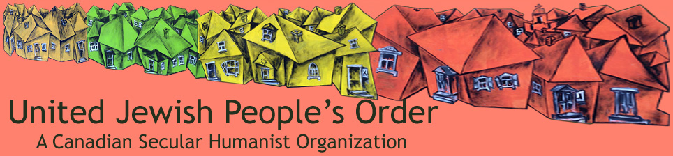 United Jewish People's Order: A Canadian Secular Humanist Organization